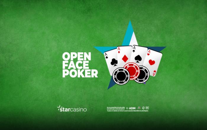 open face poker starcasinò